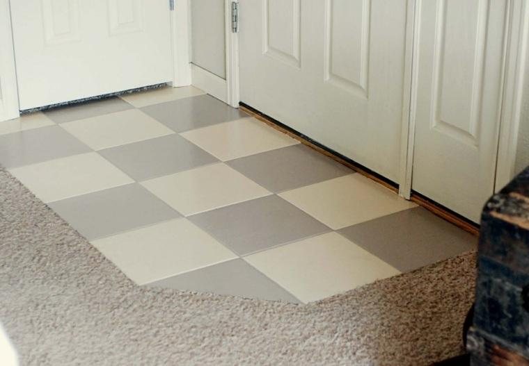 Pintar azulejos cocina para decorar vuestros interiores - Pintar suelo cocina ...