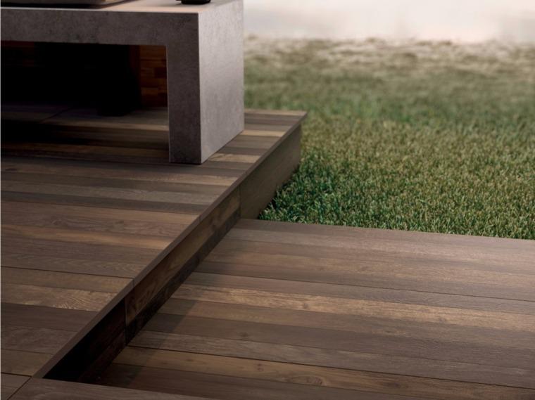 Suelos de exterior descubre las tendencias en dise o - Suelo terraza madera ...