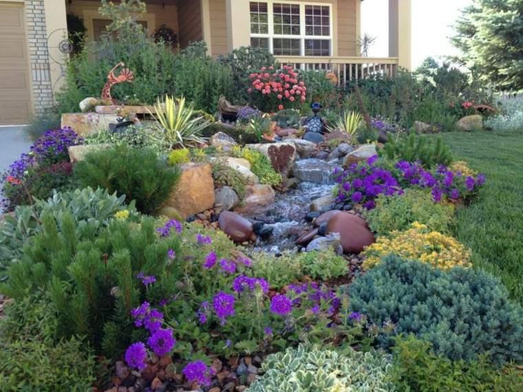 precioso diseño paisaje piedras