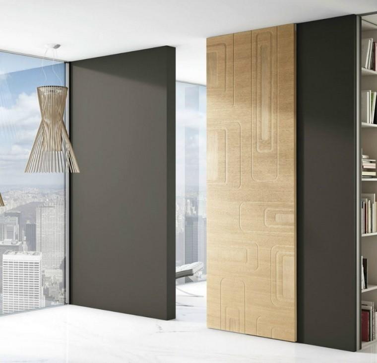 Puertas de interior modernas el estilo entra en casa for Diseno puerta