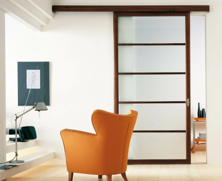Puertas corredizas para los interiores de las casas for Disenos de puertas para casas modernas