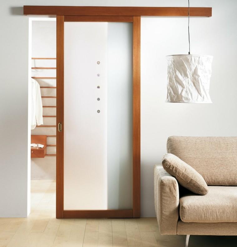 Puertas corredizas para los interiores de las casas for Disenos de puertas para interiores