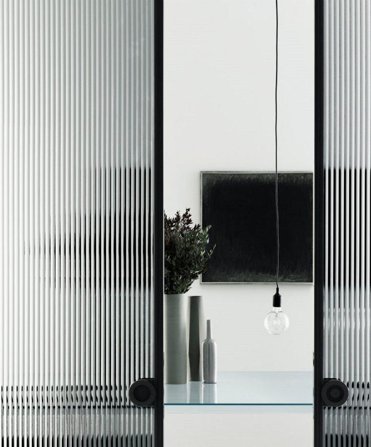 Puertas de interior modernas el estilo entra en casa - Puertas interior cristal ...