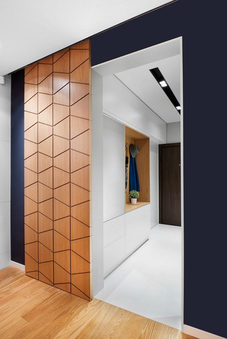Puertas de interior modernas el estilo entra en casa - Puertas de casa interior ...