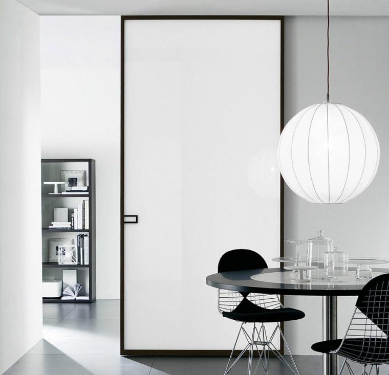 Puertas de interior modernas el estilo entra en casa - Puertas correderas de diseno ...