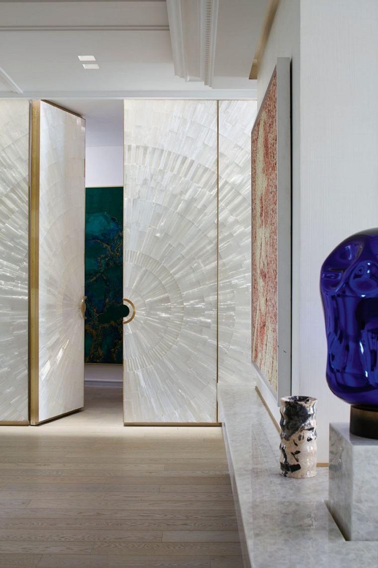 Puertas de interior modernas el estilo entra en casa for Portas de apartamentos modernas