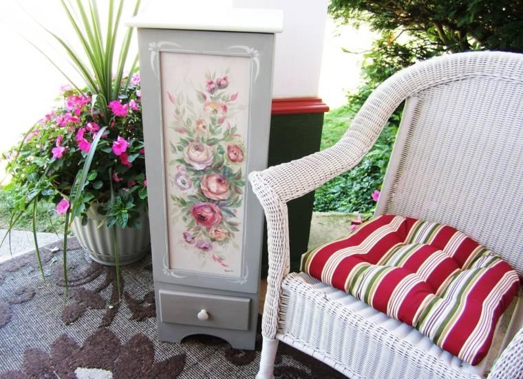 reciclar muebles antiguos detalle original reciclado exterior ideas
