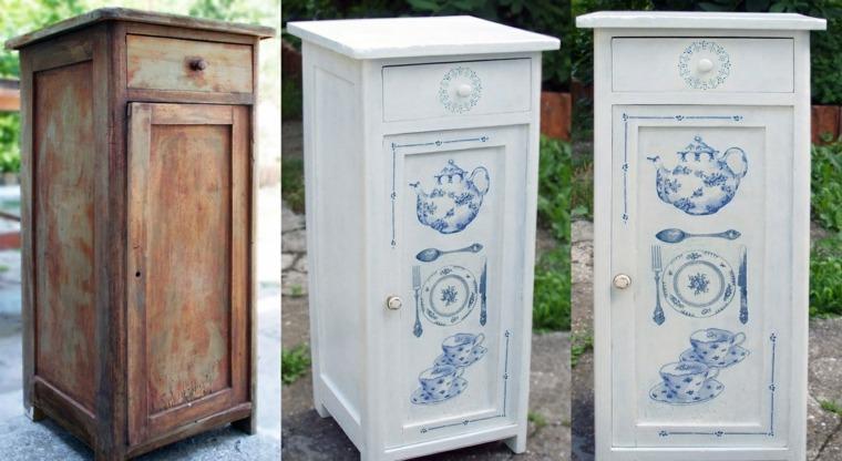 reciclar muebles antiguos opciones decorar casa ideas