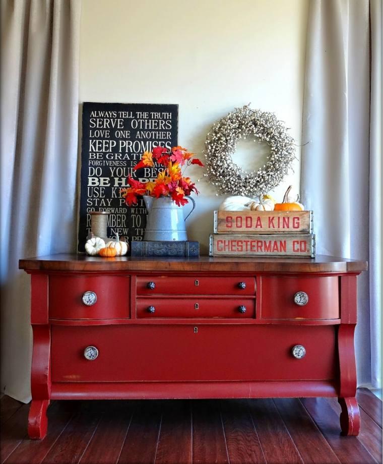 Reciclar muebles antiguos y darles una nueva vida - Muebles pintados en plata ...