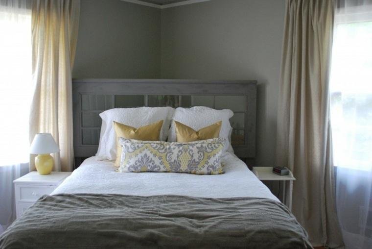 reciclar muebles antiguos respaldo cama opciones ideas