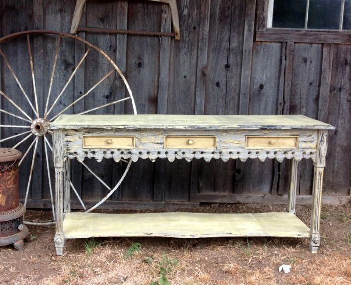 restauracion de muebles mesa imagen antigua estilos