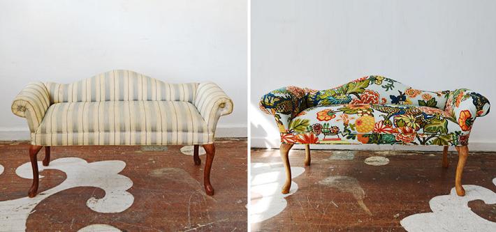 restauracion de muebles suelos materiales flores
