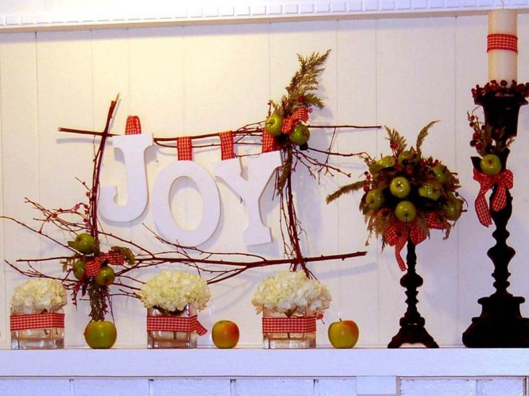 rustico ideas flores manzanas efectos