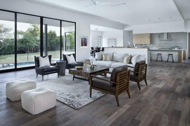 salon amplio diseno clark richardson architects ideas