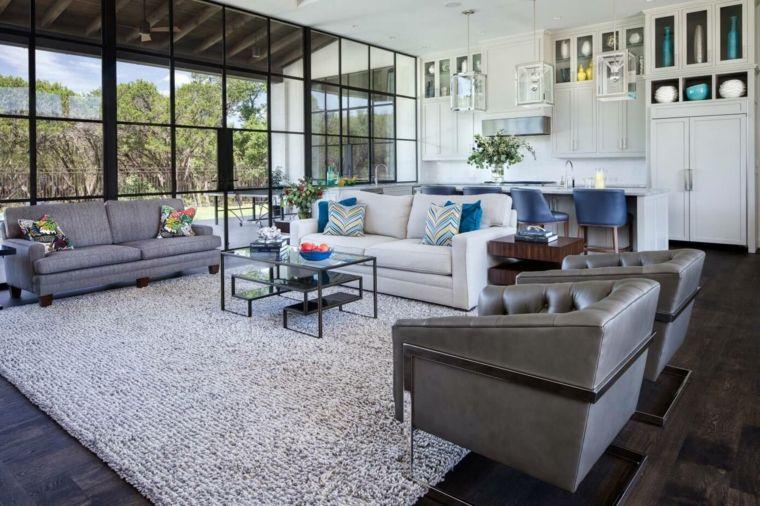 salon casa amplia diseno laura britt design ideas