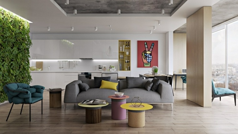 salon decoracion conceptos muebles ideas espacios