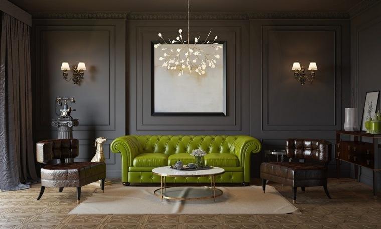salon decoracion muebles treadicionales cuaros