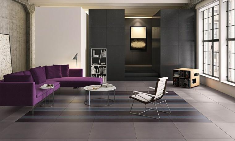 salon decoracion suelo como alfombra viejo
