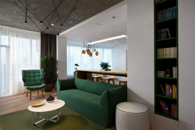salon moderno diseno minimalista muebles bonitos ideas