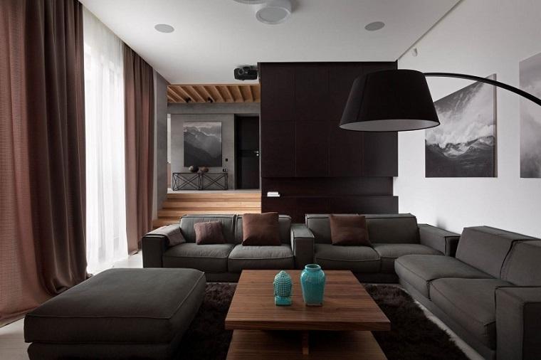 salon moderno nott design opciones ideas