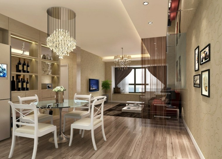 salones con comedor interior