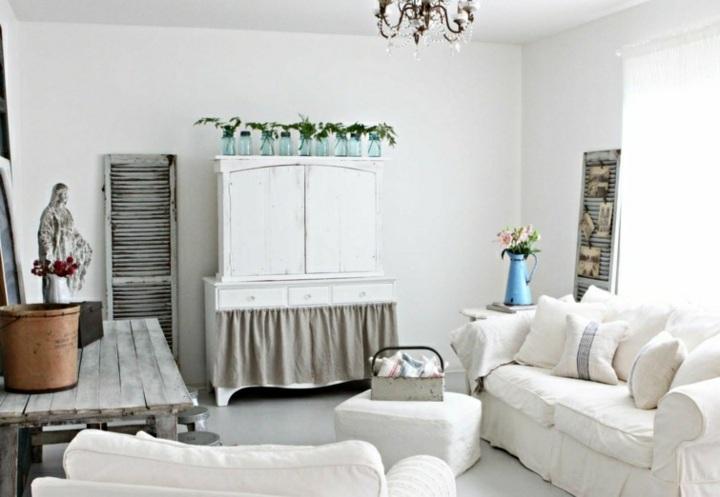salones diy estilo muebles plantas