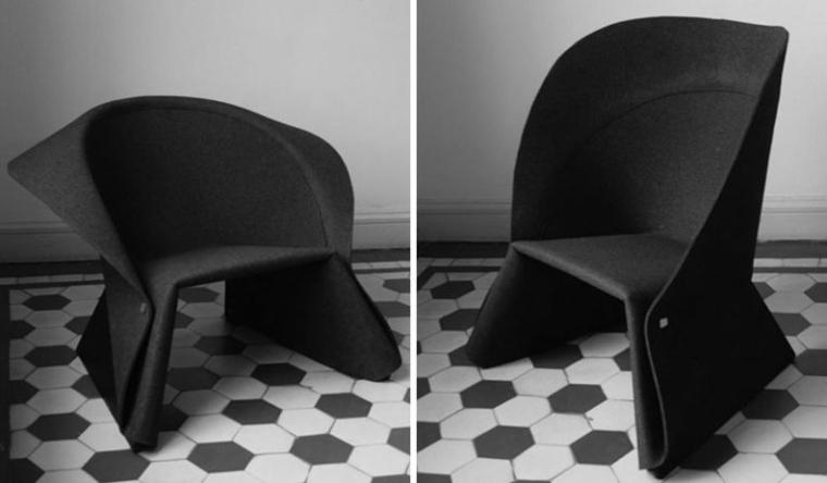 silla moderna decorar interior