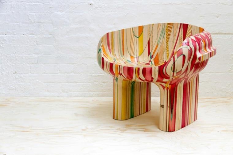 sillas de salón modernas decorar interior
