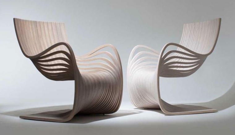 sillas modernas sala de estar