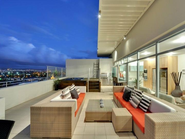 sillones exteriores conceptos claros luces