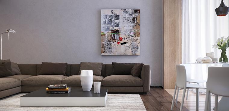 simple paredes arte ideas fresco