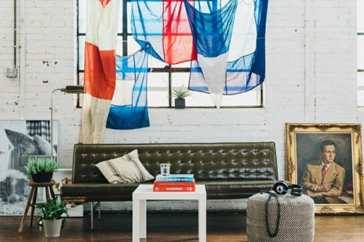 sofa accesorios especiales paredes blancas