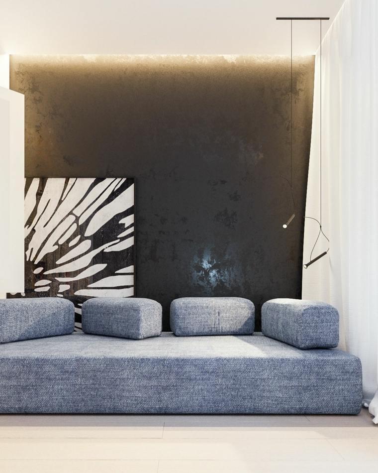 sofa modular idea paredes sillon