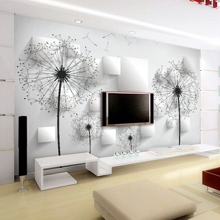 soportes de pared para tv salón