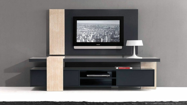 soportes de pared para tv decorar