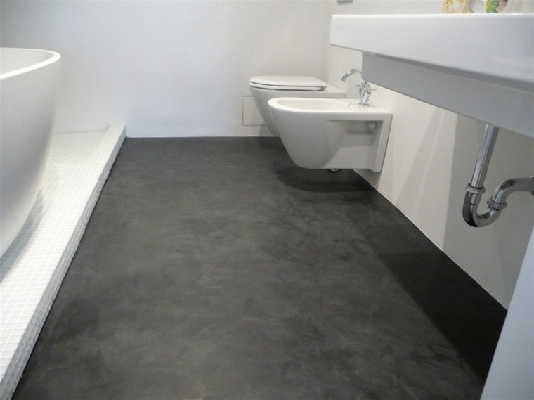 suelo de microcemento pulido interior - Microcemento Pulido