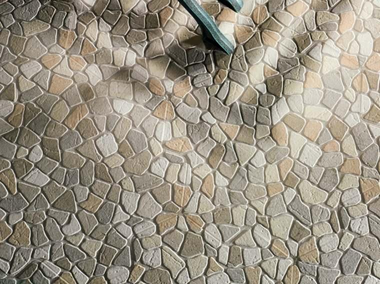 suelo original mosaico piedras