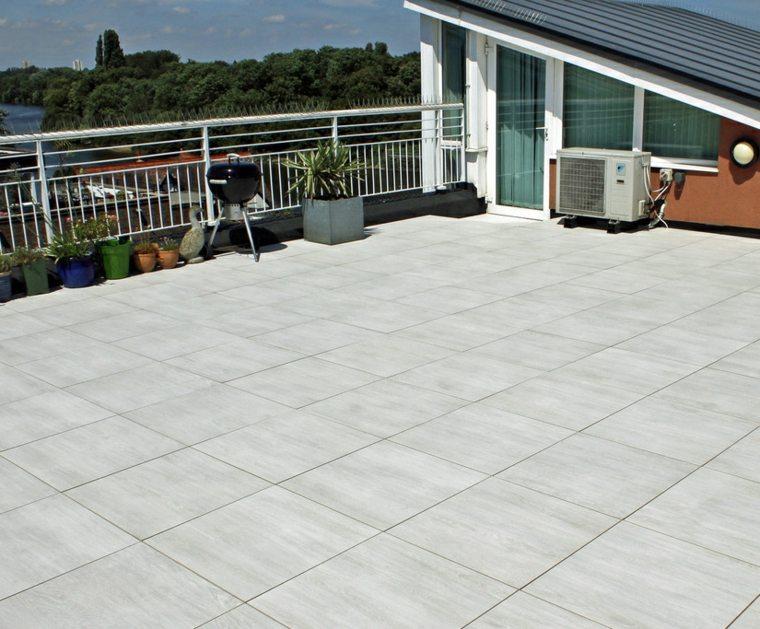 Suelos para terrazas para la renovaci n del exterior - Baldosas terraza exterior ...