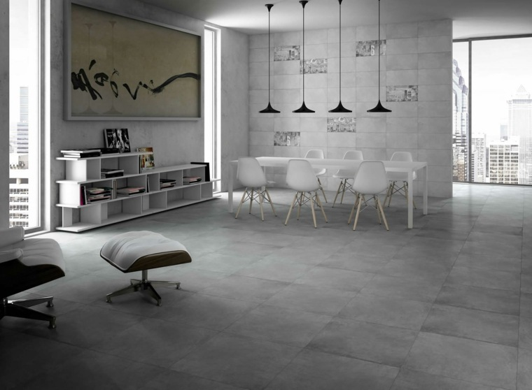 Suelos de microcemento para decorar los interiores for Suelos para casas