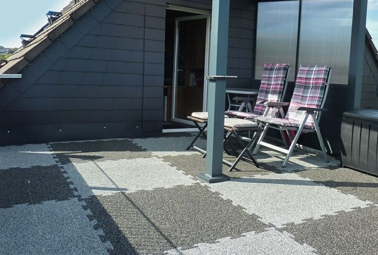 Suelos terraza exterior simple un piso con terraza y - Suelos para terrazas exteriores ...