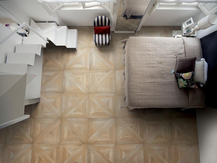 suelos para casas losas piedra dormitorio ideas