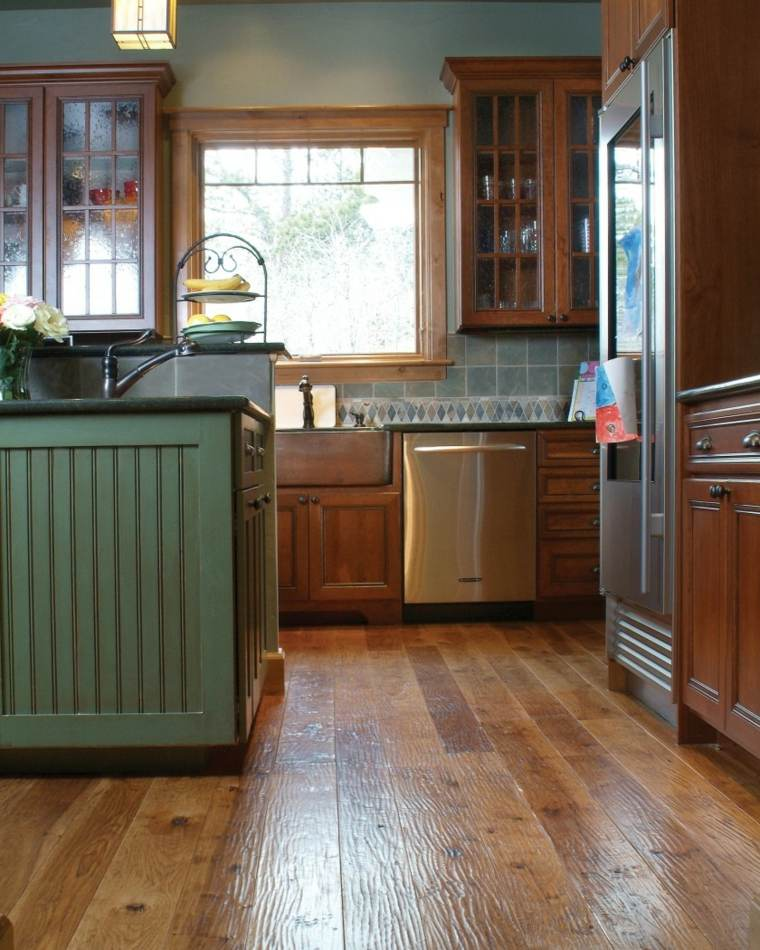 Suelos para casas tipos y consejos para elegir el suelo for Suelos de madera para cocinas