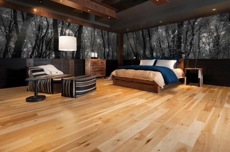 suelos para casas madera dura dormitorio ideas