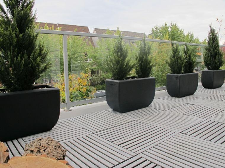 suelos para terrazas decorar exterior