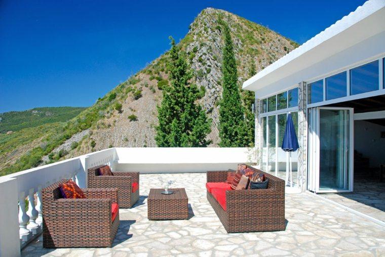 Suelos para terrazas para la renovaci n del exterior - Suelos jardin exterior ...