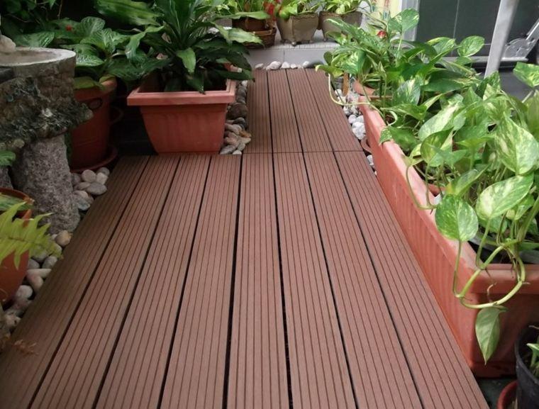 Suelos de exterior descubre las tendencias en dise o - Suelos de jardin exterior ...