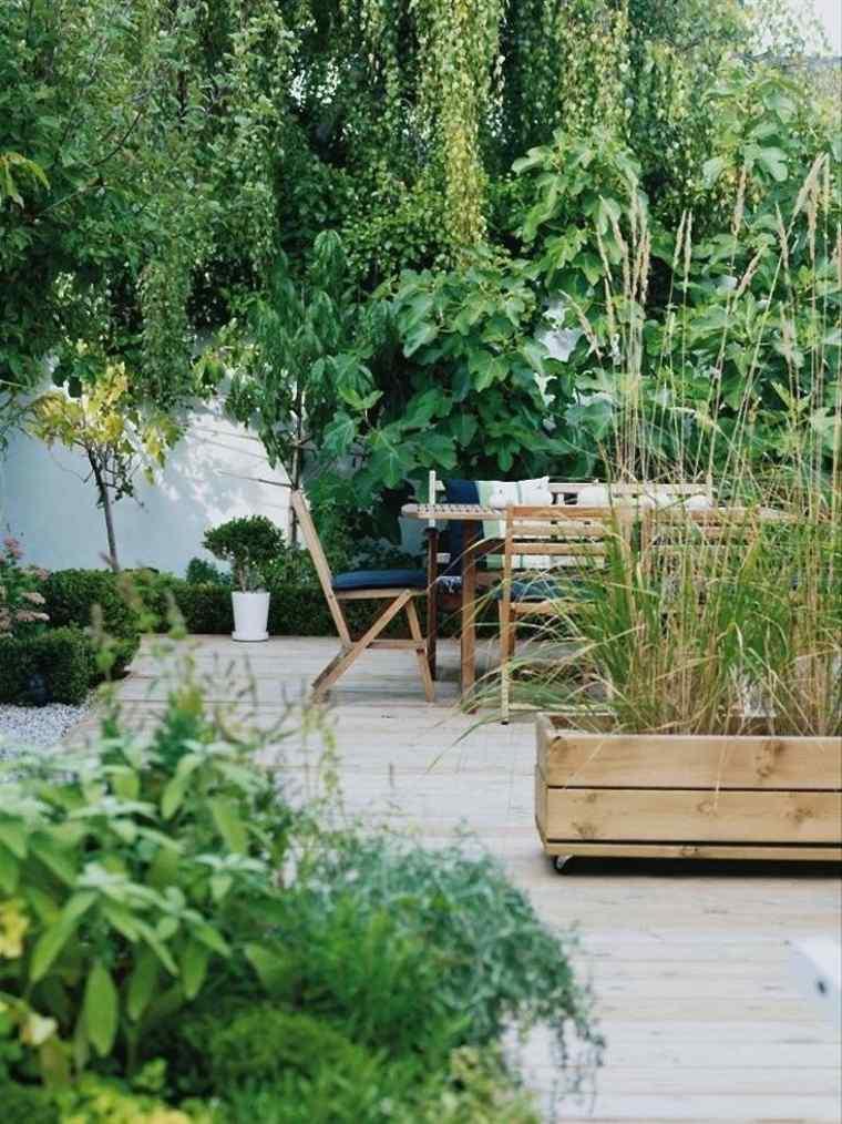 tendencia diseño jardines modernos
