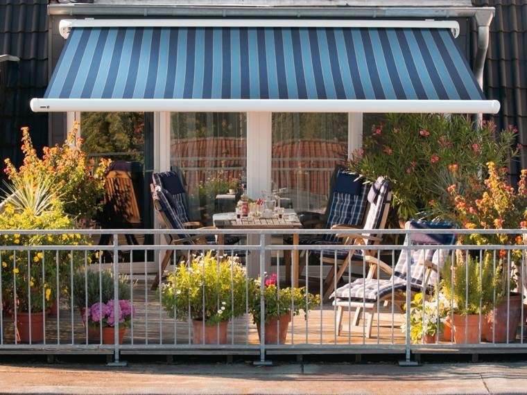 terraza bella toldo opciones originales ideas