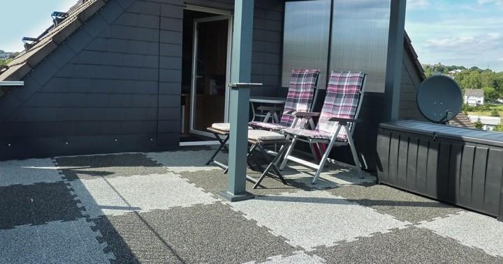 terraza suelos cuadros patrones fijos