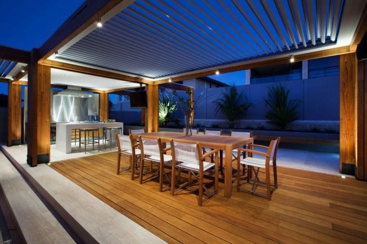 terraza suelos diferencias zonas material salones